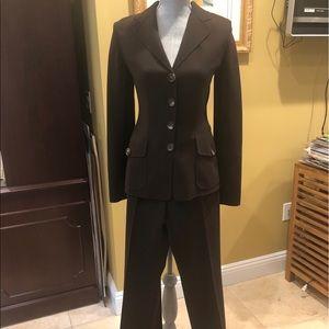 Celine Brown Pant Suit NWOT size 38